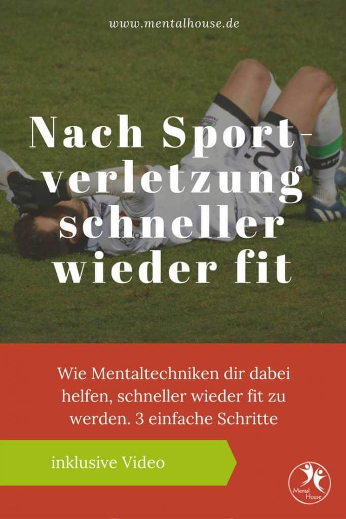 Mentaltraining nach Sportverletzung-schneller wieder fit!