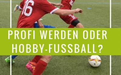 Fussballprofi oder Hobbysport. Was ist eine Spitzensportlermentalität
